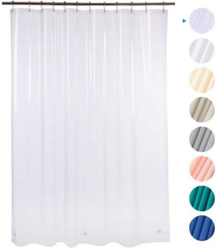 Plastic Shower Curtain by AmazerBath - Customized Shower Curtains