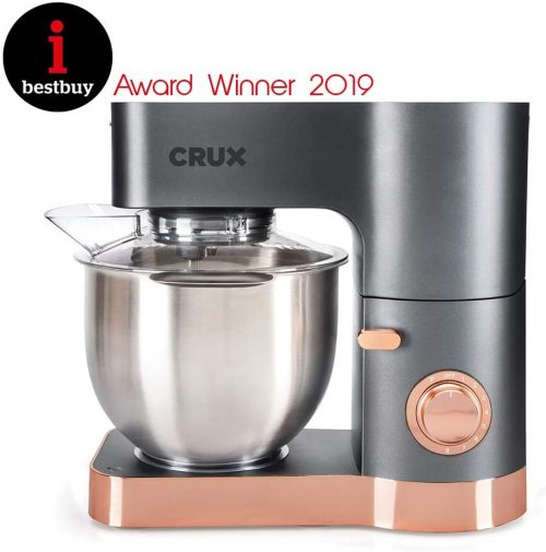 Bake and Blend 5.5L Stand Mixer with Blender Jug CRUX004