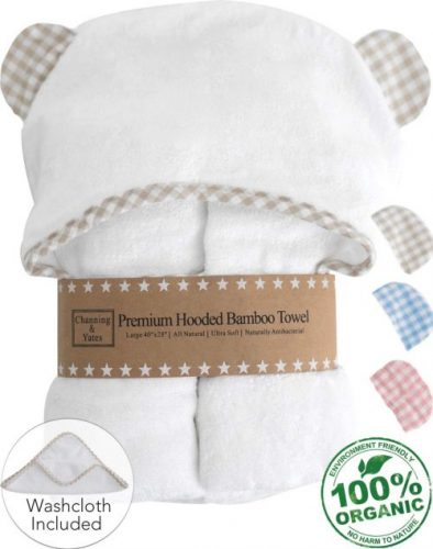 Channing and Yates Baby Towel - Baby Bath Towels