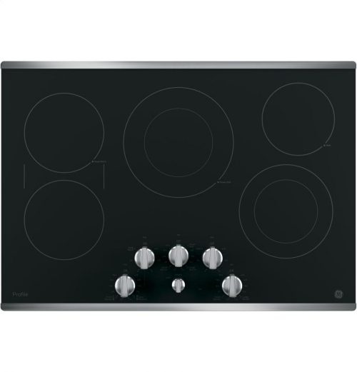 GE Profile Radiant Electric Cooktop PP7030BMTS