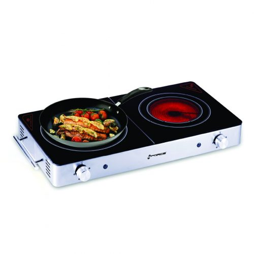 GForce GF-P136-854 Portable Double Induction Burner