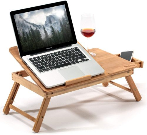 Large Foldable Laptop & Notebook Table - Bed Tables