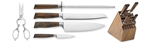 Messermeister Royale Elite Kitchen Knife Set from Global