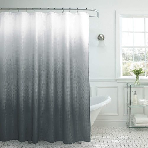 Ombre Textured Shower by Creative Home Ideas - Customized Shower Curtains
