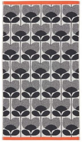OrlaKiely Rose Towels - White Hand Towels