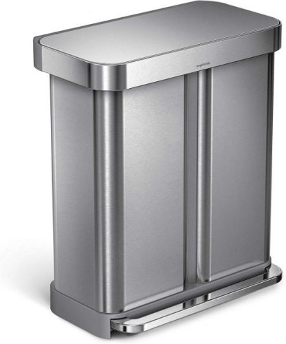 Simplehuman Recycler Liner Pocket - Dual Garbage Cans
