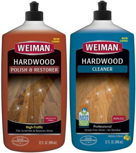 Weiman Hardwood Floor Cleaner and Polish - Wood Floor Wax