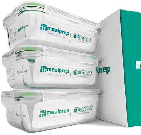 Prep Natural 5-Pack Prep Containers