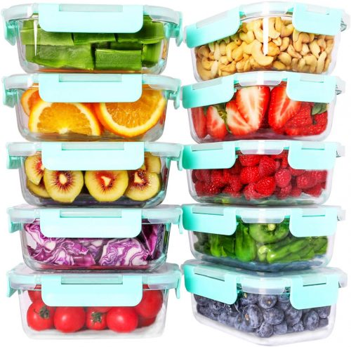 Bayco 10 Pack Glass Containers