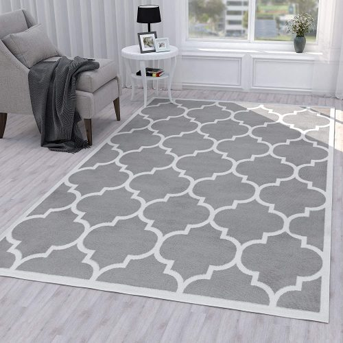 Ottomanson Grey Runner Area Rug