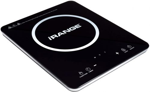 IRANGE Ultra Slim Portable Induction Cooktop - Induction Hot Plates