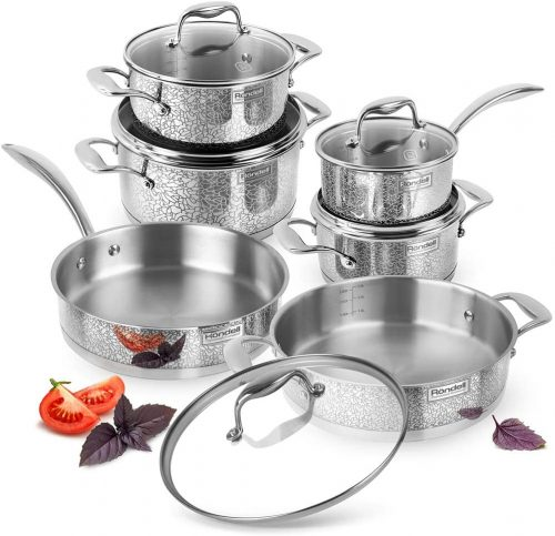 RONDELL VINTAGE Stainless Steel Induction Cookware