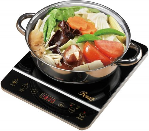 ROSEWILL 1800 Watt Induction Cooktop - Induction Hot Plates