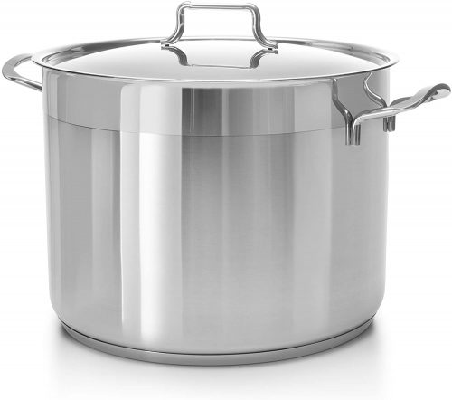 HASCEVHER Classic Stainless Steel Induction Stockpot