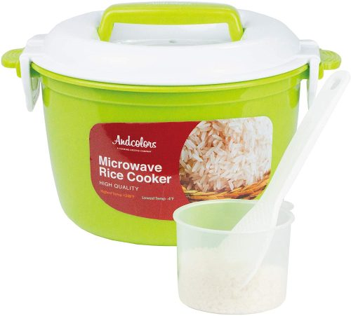 And Colors Microwave Rice Cooker