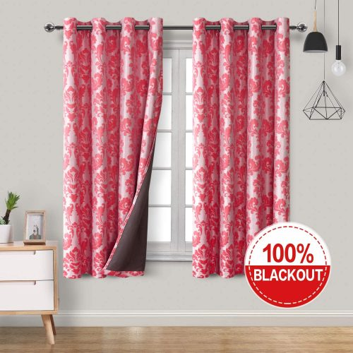Hiasan Jacquard 100% Blackout Curtains