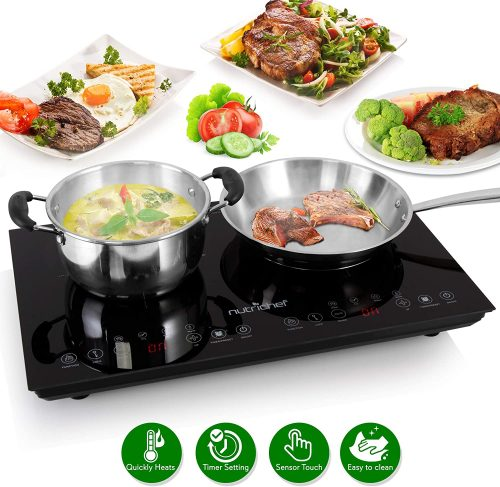 Double Induction Cooktop-NUTRICHEF
