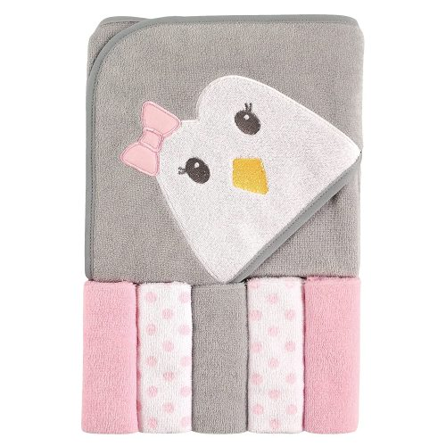 Luvable Friends Hooded washcloths Penguin