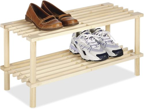 Whitmor Wood Shoe Rack