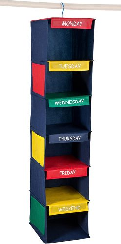 Daily Activity Kids Closet Organizer