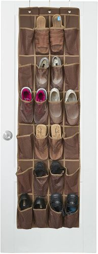 Java Over The Door Shoe Organizer