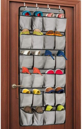 Unjumbly Over the Door Shoe Organizer - Over-the-Door Shoe Rack