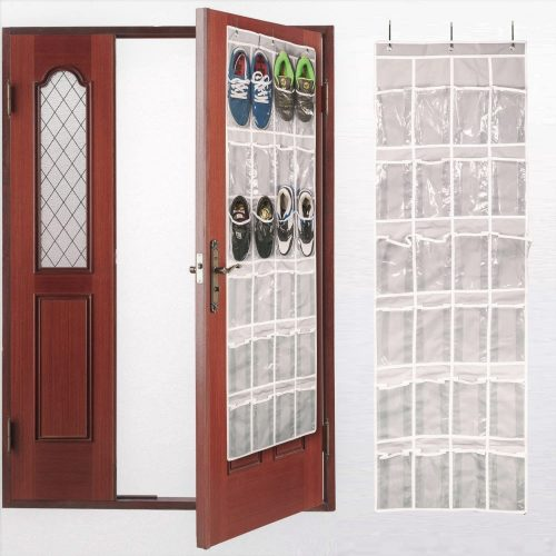 AOTUNO Over The Door Shoe Organizer - Over-the-Door Shoe Rack