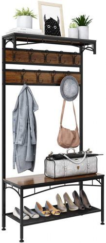 Rackaphile 3-in-1 Entryway Coat Rack