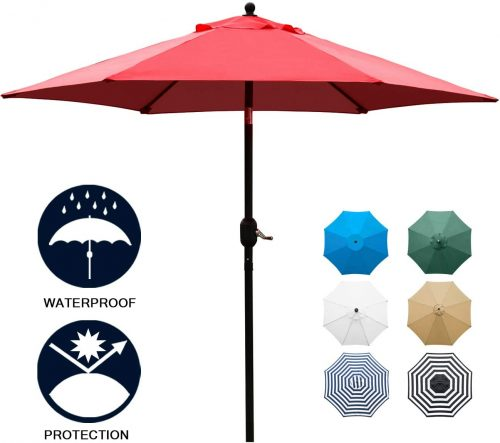 Sunnyglade Six-Ribbed Umbrella