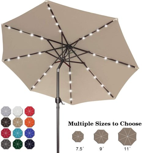 ABCCANOPY Solar Powered Umbrella