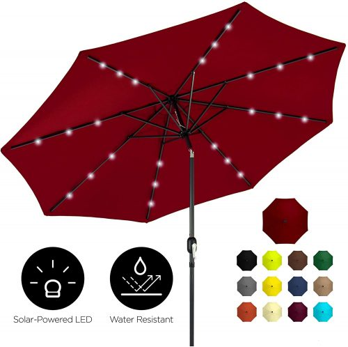 Best Choice Solar Powered Pool Umbrella