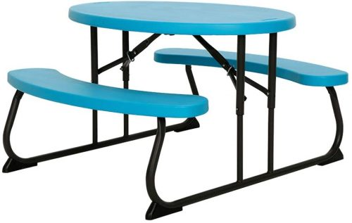 Lifetime 60229 Kids Round Picnic Table