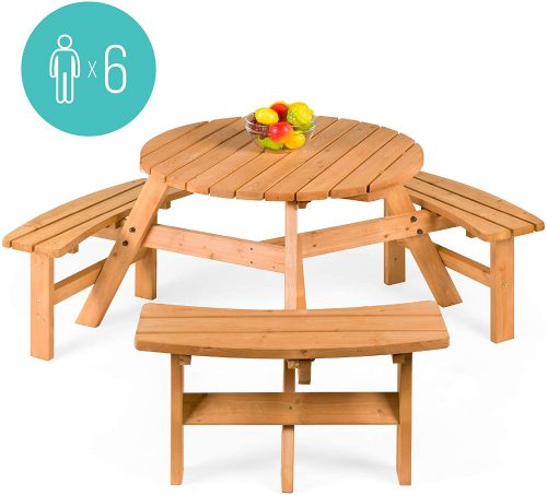 Best Choice Round Picnic Table