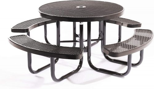 Coated Outdoor Furniture TRD Table - Round Picnic Table