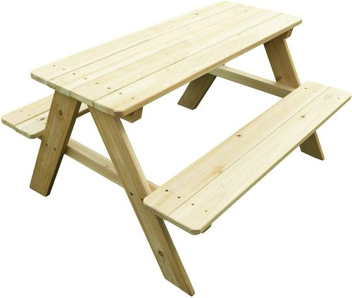 Merry Garden Wood Picnic Table