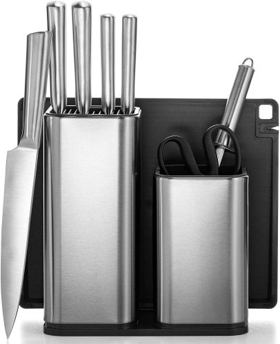 Stainless Steel Knife Set by Fine din
