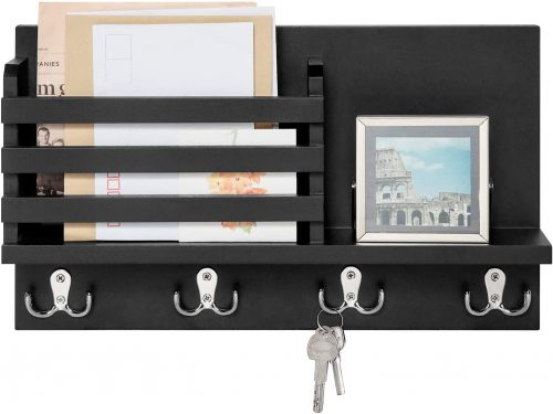Dahey Wall Mounted Key and Mail Holder