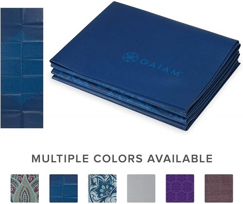 Gaiam Travel Fitness and Exercise Mat