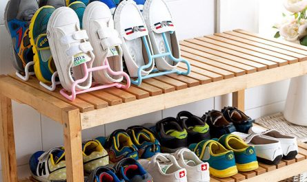 Kids' Shoe Racks
