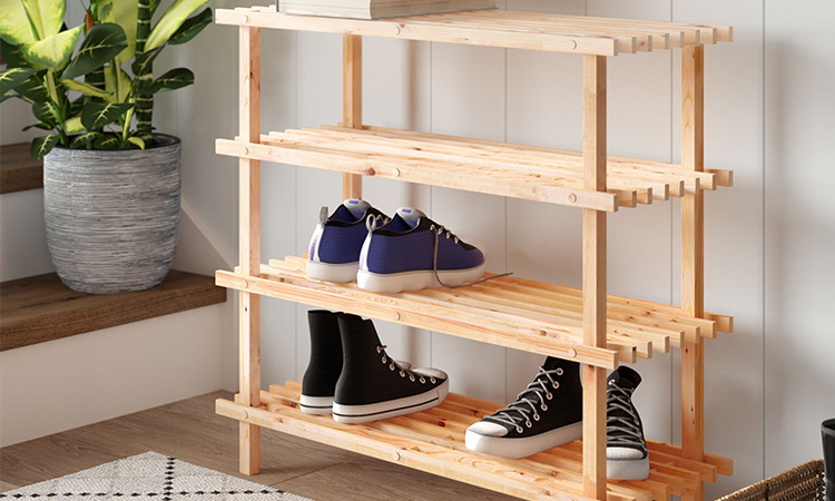 Best Wooden Shoe Stands in 2020 | Keep Your Space Organized