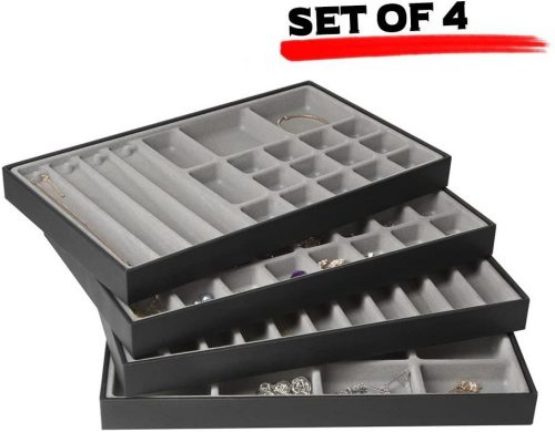 JackCubeDesign Stackable Jewelry Tray