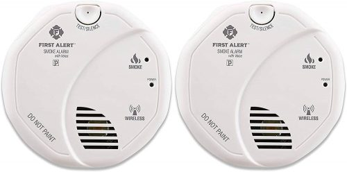 First Alert Smoke Detector Alarm