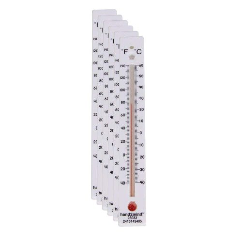 hand2mind Low-Range Liquid Thermometers
