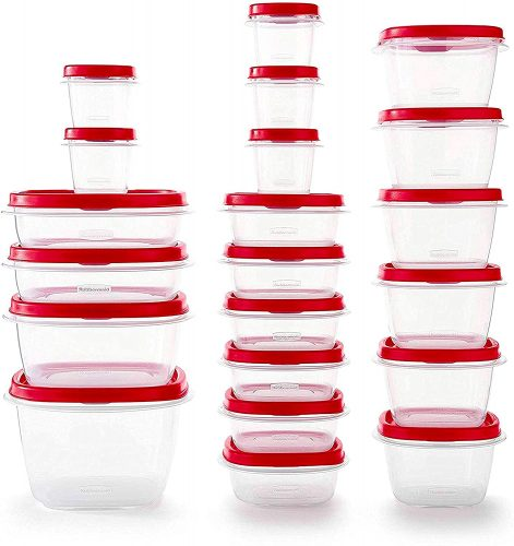 Rubbermaid Vented Lids Kitchen Containers