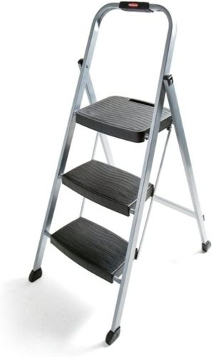 Rubbermaid RM-3W Folding 3-Step Stool