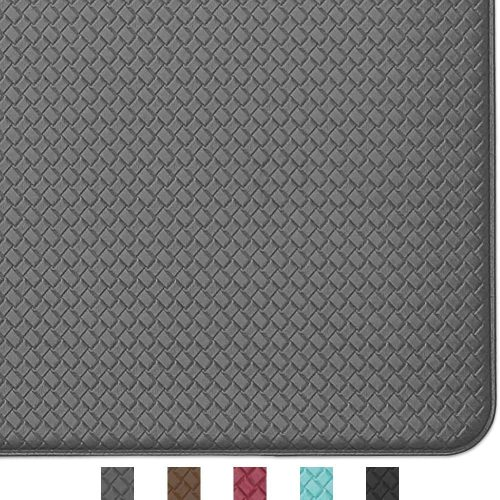 Color & Geometry Cushioned Kitchen Rug