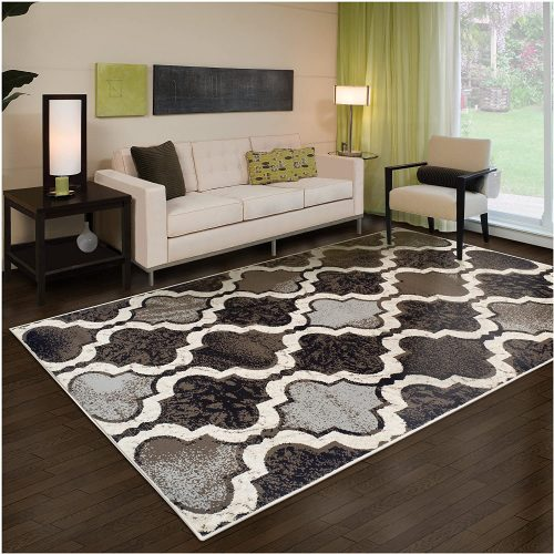 Superior Viking Collection Trellis Pattern Area Rug