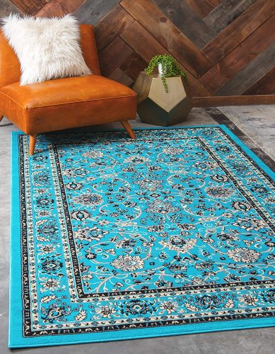 Unique Loom Collection Kashan Traditional Rug