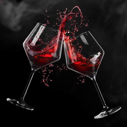 Season STORY Large Tall Red Wine Glasses