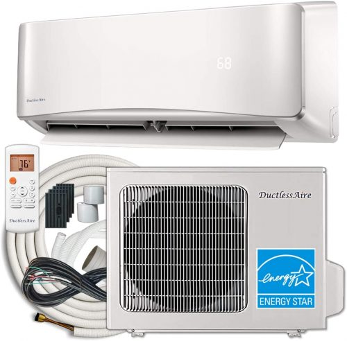 DuctlessAire 24,000 BTU 20.5 SEER Energy Star Ductless Air Conditioner